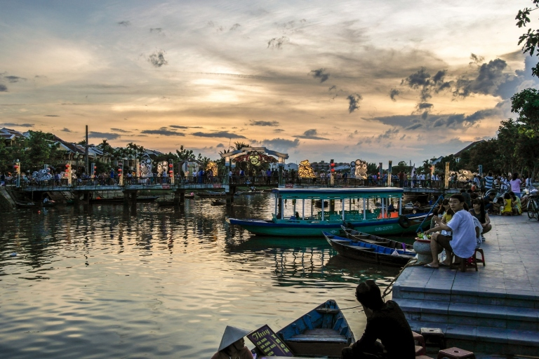 Sunset in Hoi An